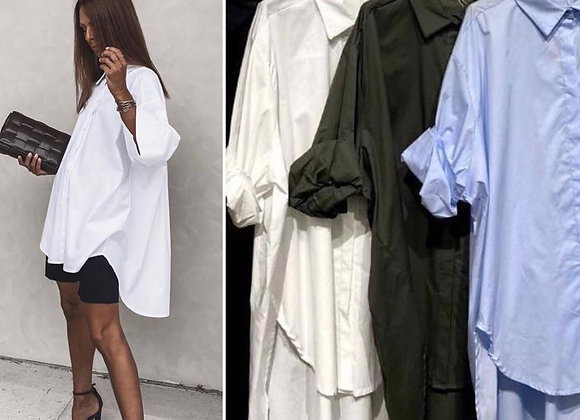 Maxi Camisa Blanca