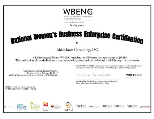WBENC WBE