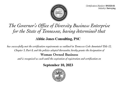 Tennessee Go-DBE