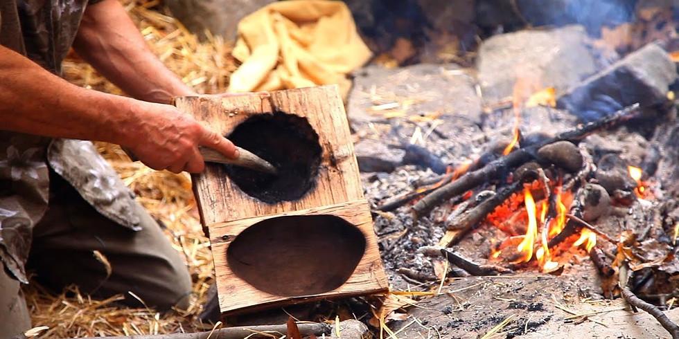 Burned Wood Bowls