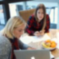 Creative brainstorm meeting
