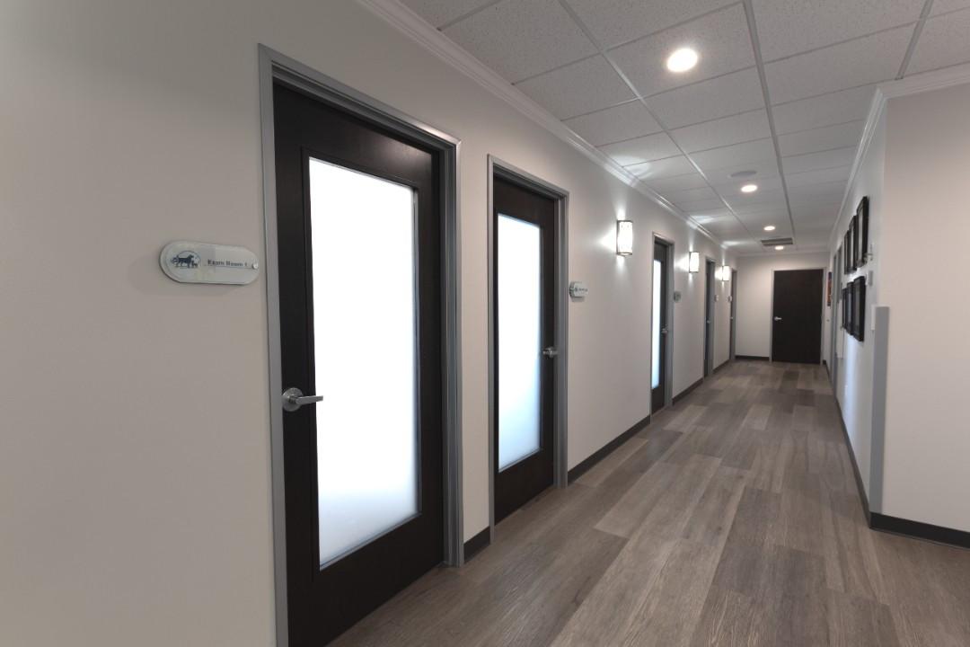 Exam Room Hallway