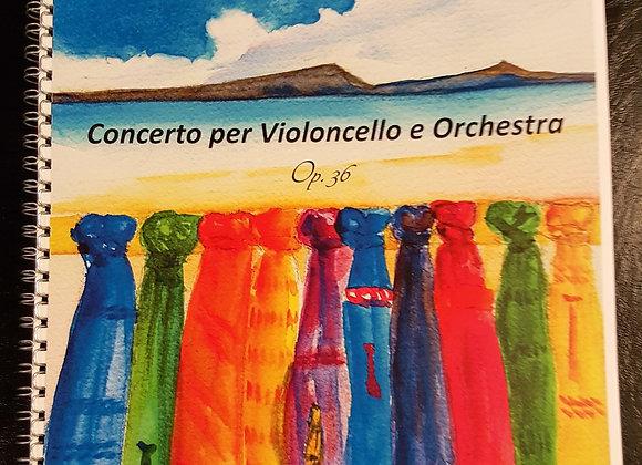 Spartito Concerto per Violoncello Op.36 (versione per pianoforte e violoncello)