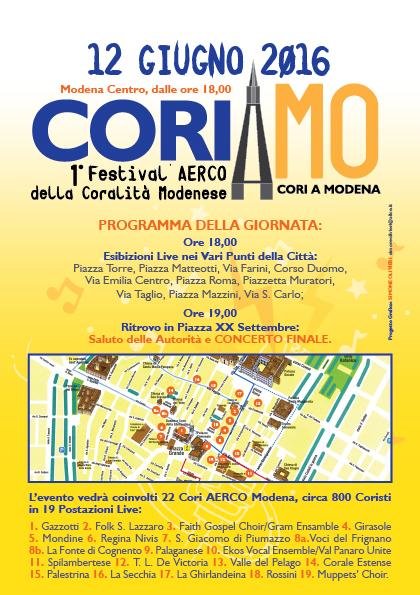 Coriamo Volantino-A5-Retro