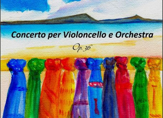 Partitura Concerto per violoncello Op.36 (Full Score)
