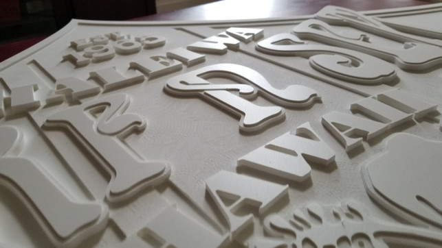 CNC Routered Sign