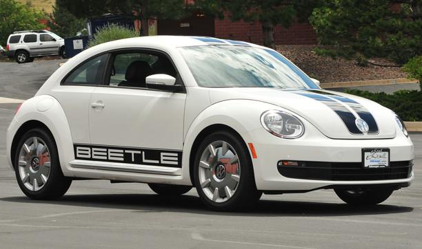 Volkswagon Beetle Stripes