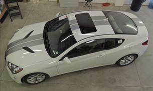 Custom Hyundai Genesis Graphics