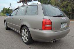 Audi S4 Avant Matte Aluminum
