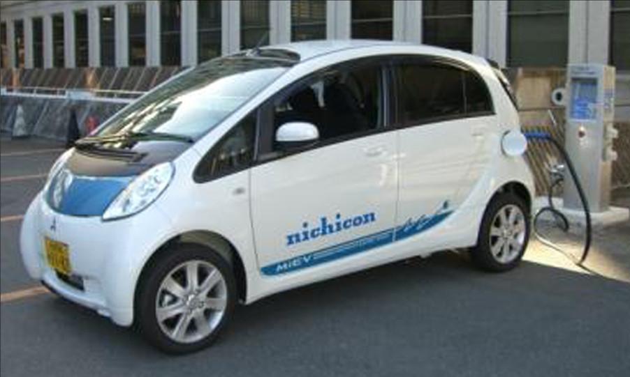 Mitsubishi MIEV Graphics