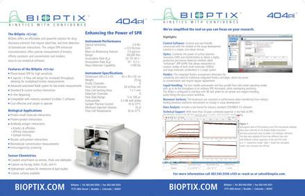Bioptix Technical Brochure