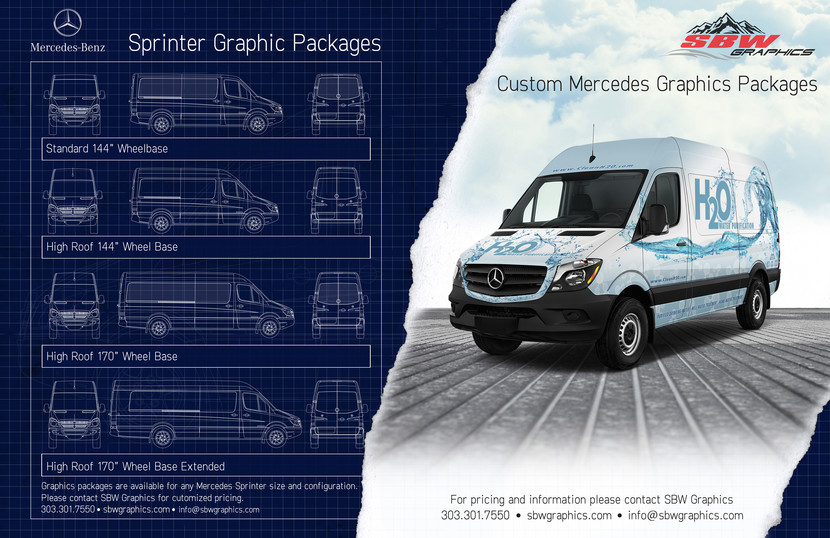 Mercedes Sprinter Graphics