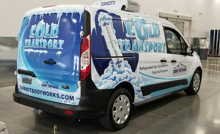 Refrigerated Transit Graphics