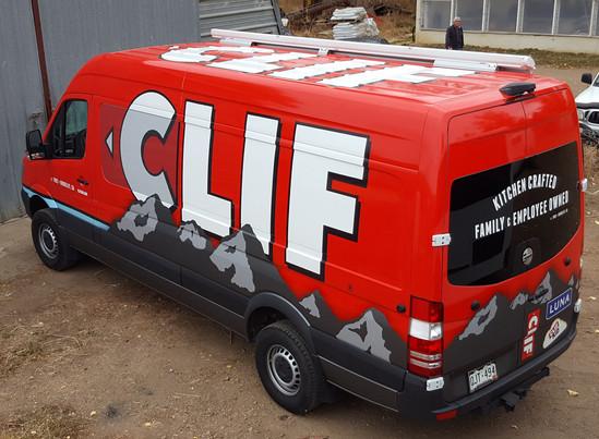 Clif Bar Sprinter Graphics