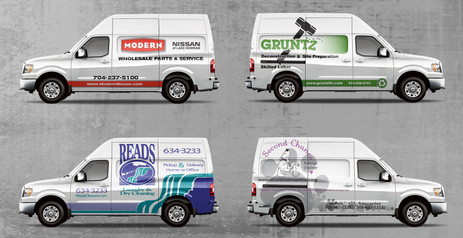 Nissan NV Commercial Graphics