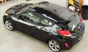 Custom Hyundai Veloster Graphics