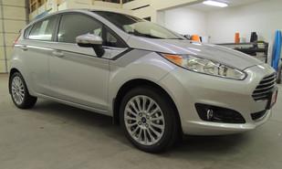 Custom Ford Fiesta Graphics