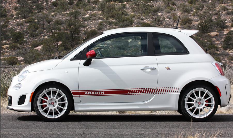 Fiat Abarth Custom Graphics