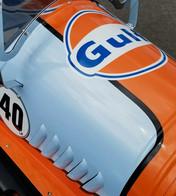 Gulf Livery Pedal Car