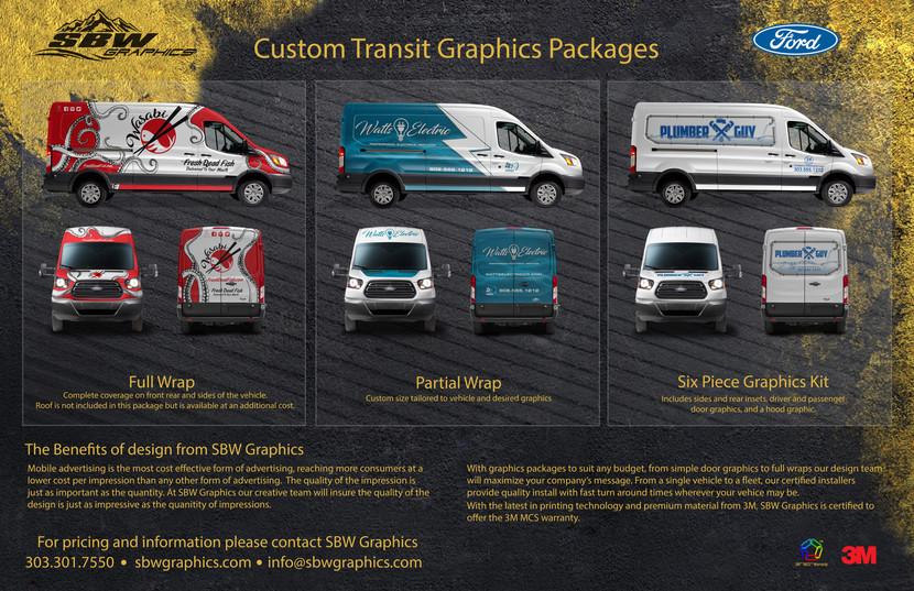 Ford Transit Graphics