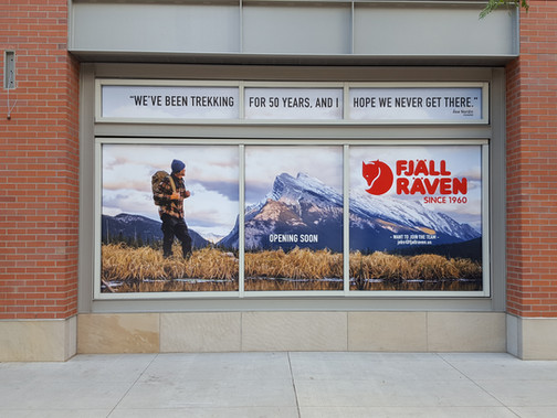 Fjall Raven Store Front
