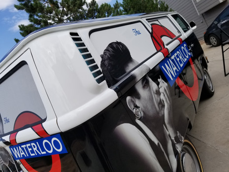 Waterloo Promotional Bus Full Wrap