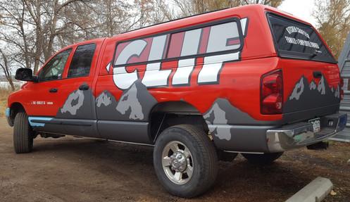 Clif Bar Truck Graphics