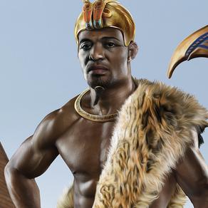 A dinastia dos faraós negros