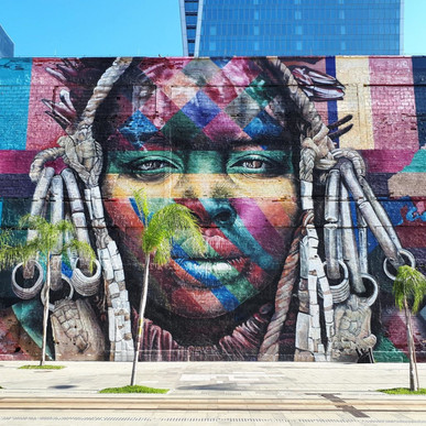 Mural Etnias - Rio de Janeiro/RJ