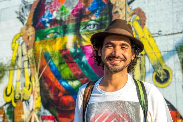 Artista Eduardo Kobra