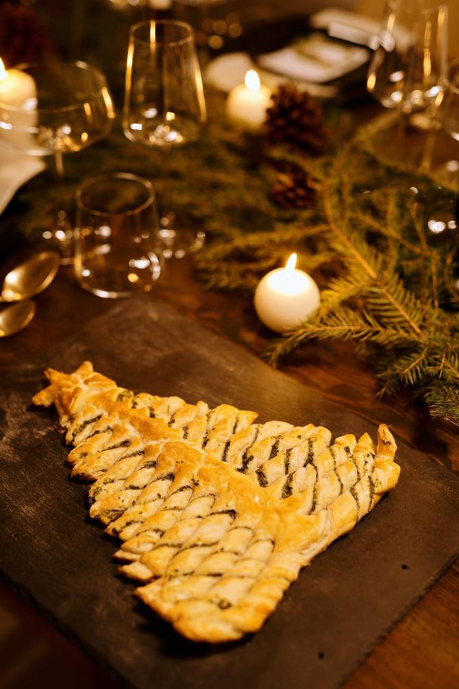Calendrier de l'avent : 20 décembre - Sapin de Noël feuilleté au chocolat
