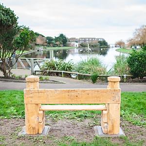Steve's bench Mewsbrook park