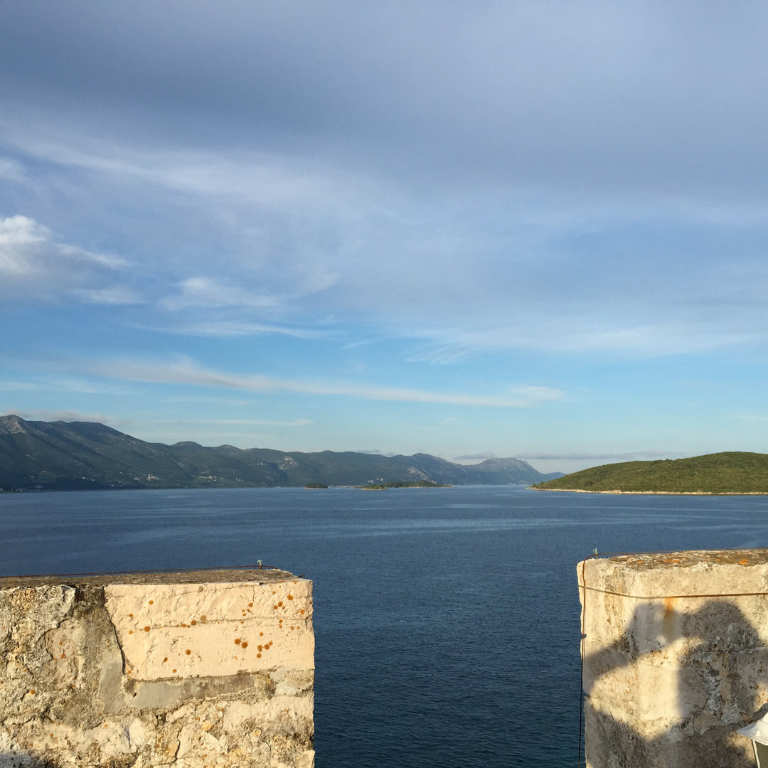 View from Korcula