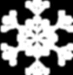 Blanco del copo de nieve 1