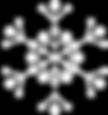 Weiße Schneeflocke 1