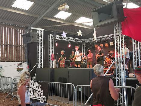 SH96HO / BC218 / BC415 Wilkswood Reggae Festival
