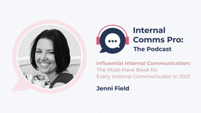 Influential Internal Communication:The Must Have Book for Every Internal Communicator in 2021 - 5.18