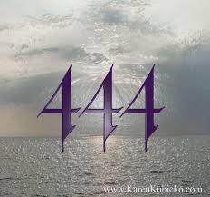 444 Woke me up