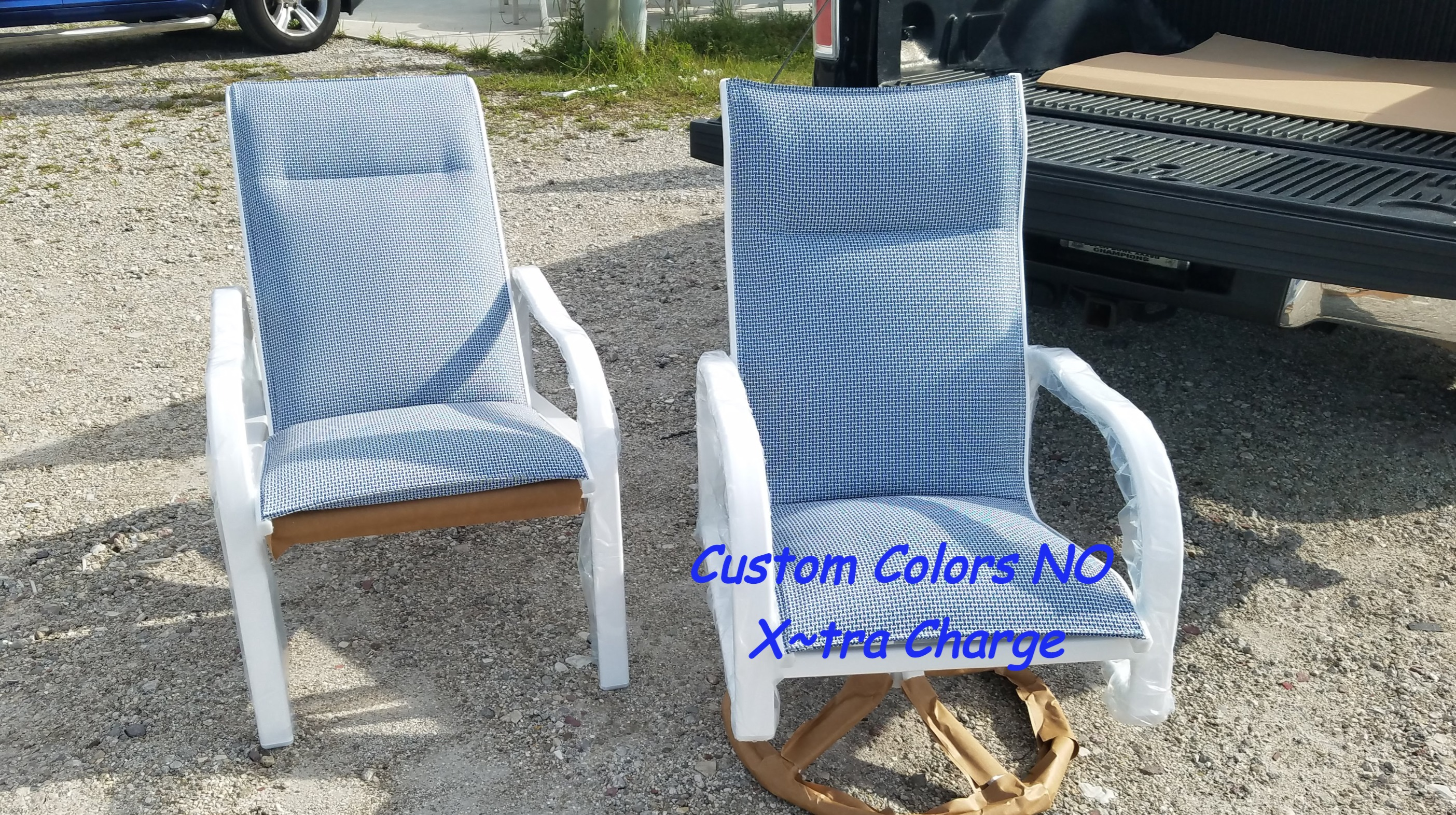 Padded High Back Chairs