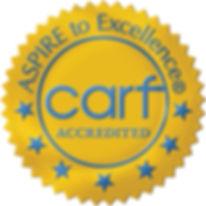 CARF, Accredited, three years