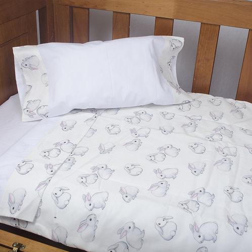 Cobertor Cuna Colecho Conejitos