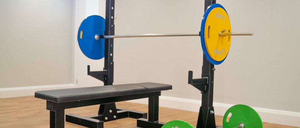 Home Gym Kit with Stands