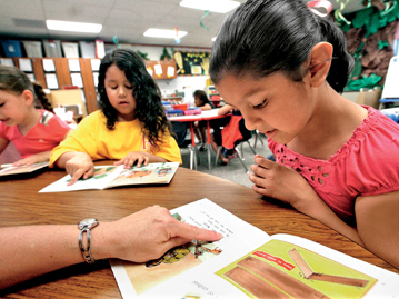 Leveled Reading in an ESL Classroom