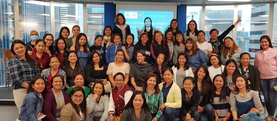 Child Care Training in the Filipino Media