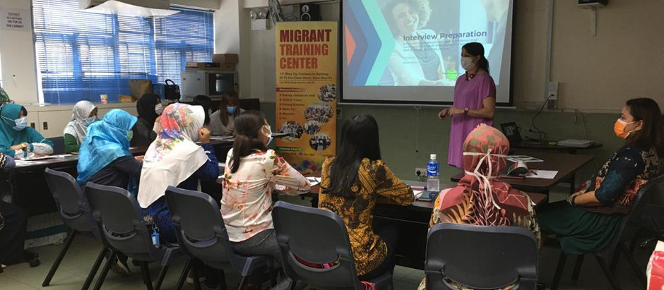 Decision Making and Interview Preparation for the Indonesian Migrant Domestic Worker Community