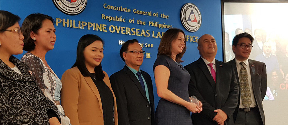 Next Chapters receives positive impact award from the Philippine Overseas Labor Office