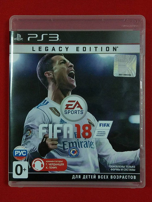 Fifa 18 Legacy Edition (PS3)