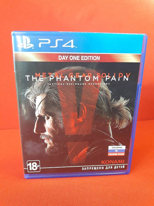 Диск для PS4 Metal Gear Solid V: The Phantom Pain
