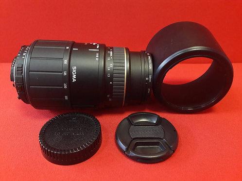 Sigma AF 70-300mm F4-5.6 APO macro Nikon