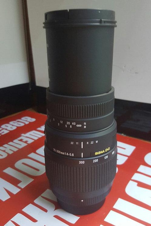 Sigma AF 70-300mm f/4-5.6 DG macro Nikon F3.5